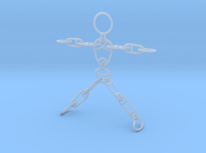 Ragdoll Pendant (11 parts) 3d printed