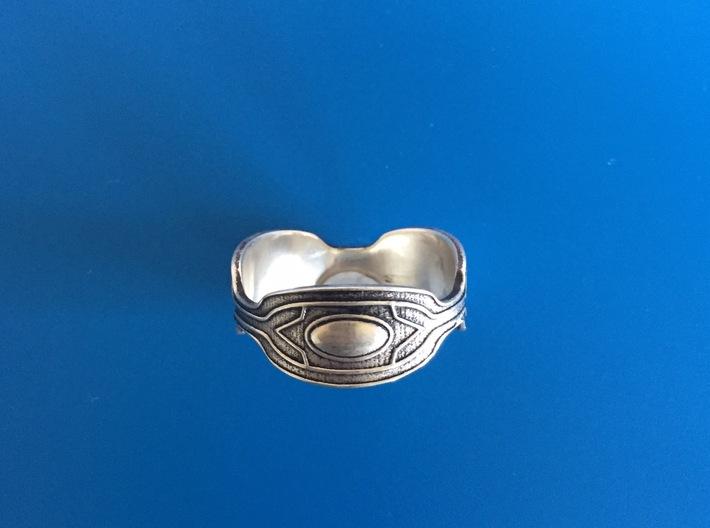 Black panther Ring replica 3d printed