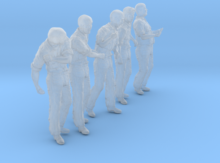 1/56 USN Carrier Deck Crew Set303-3 3d printed