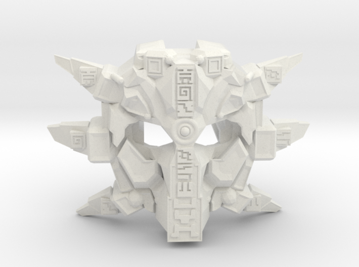 Custom Edition: Mask Of Ultimate Power - Gen Two - 3d printed