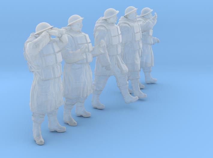 1/56 Royal Navy D-Coat+Lifevst Set203-2 3d printed