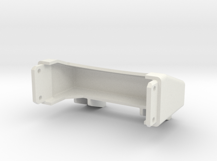Tamiya Semi Truck Tapered Frame End - Type A 3d printed
