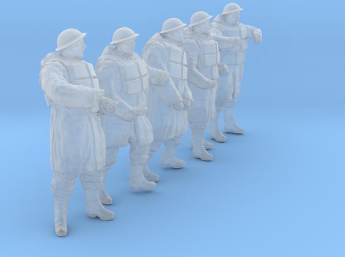 1/35 Royal Navy D-Coat+Lifevst Set203-3 3d printed