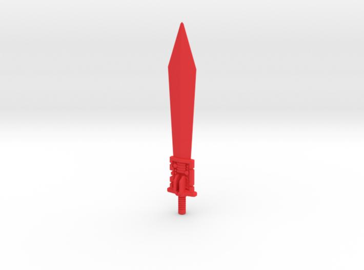 POTP Grimlock G1 Sword 3d printed