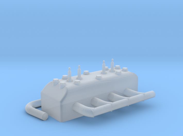 RC curtiss jenny engine cylinder heads 3d printed