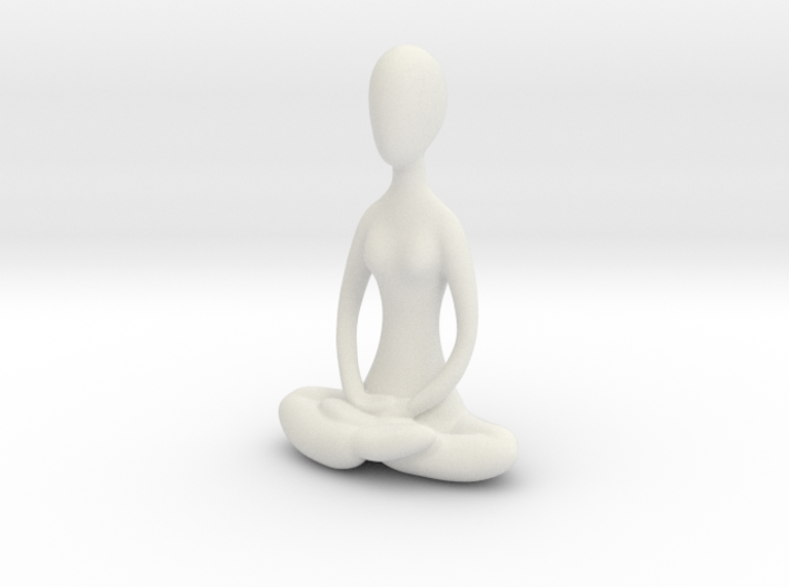 Yoga Lotus 3d printed