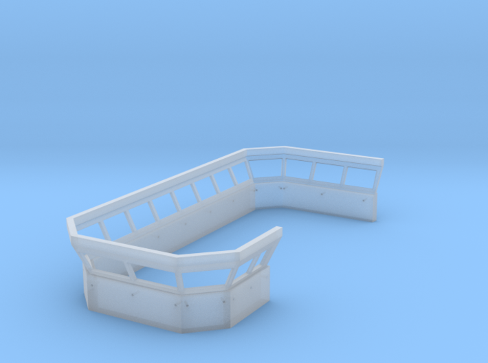 Superstructure L2 Front 3d printed