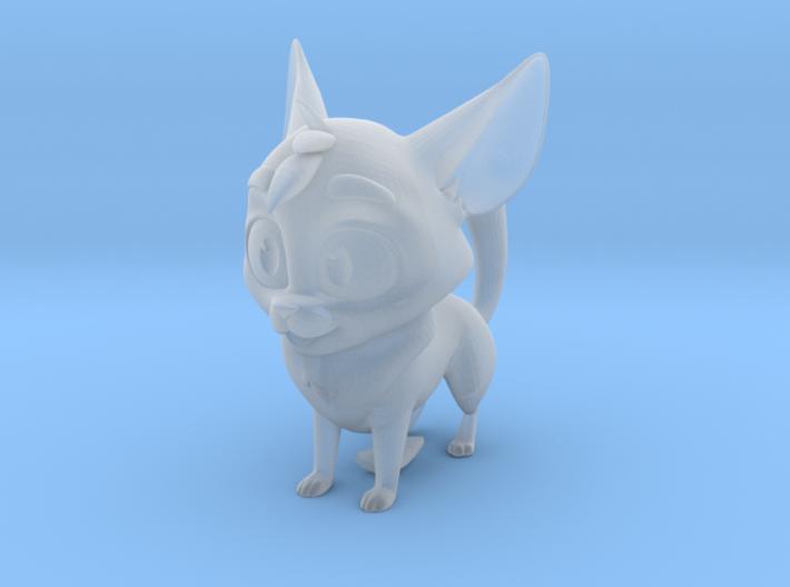 Odd Dog Maquette 3d printed
