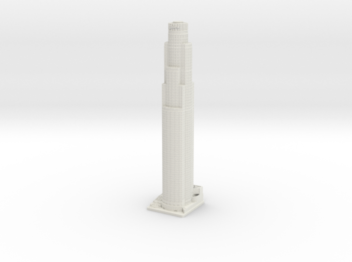 US Bank Tower (1:2000) 3d printed