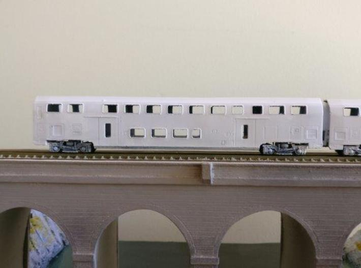 N07A - SBB Twindexx 2nd Class Trailer - N Scale 3d printed Note: window layout may differ
