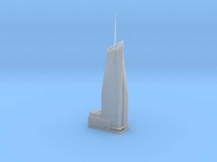 Bank of America Tower (1:2000) 3d printed