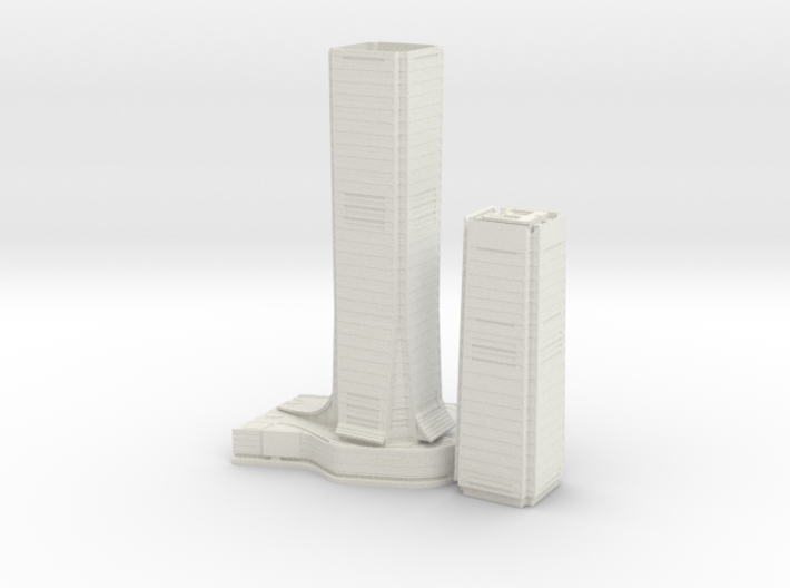 International Commerce Centre (1:2000) 3d printed
