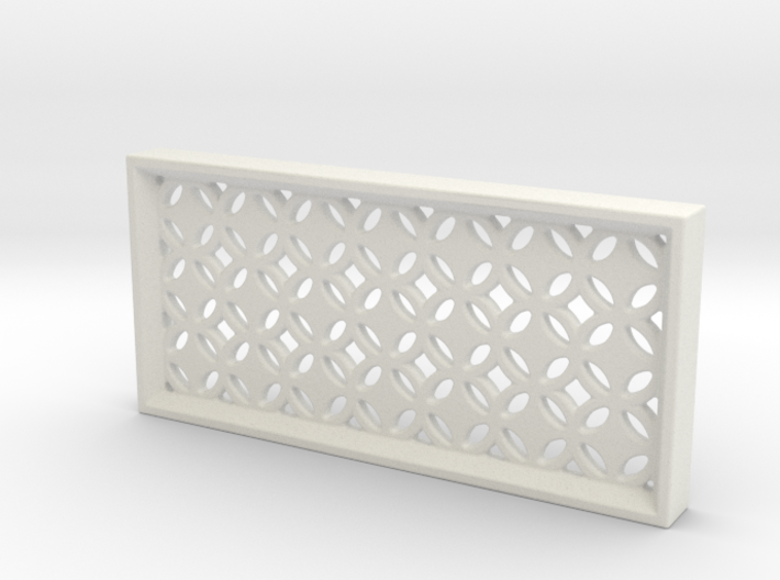 Geometric Pattern Wall Panel 3d printed