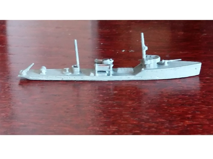 1/1250th scale Fugas class soviet minelayer 3d printed Photo and painting by profLutz.
