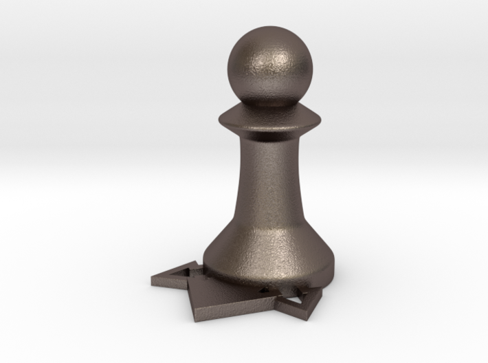 Instructional Chess Set - Pawn 3d printed