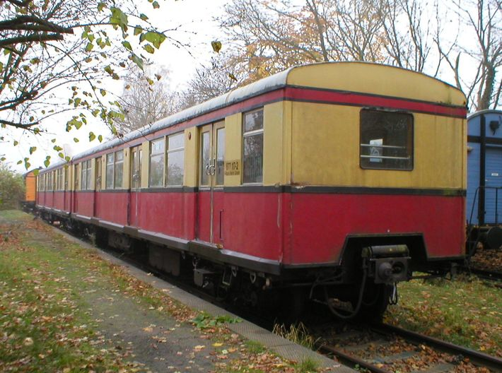 BR 877 Trailer 0 scale [1x body] 3d printed Photo of Berlin S-bahn BR 877