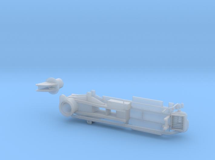 BP 04 Betonpumpe ähnlich 50-M5-XXT Pumpenrahmen 3d printed