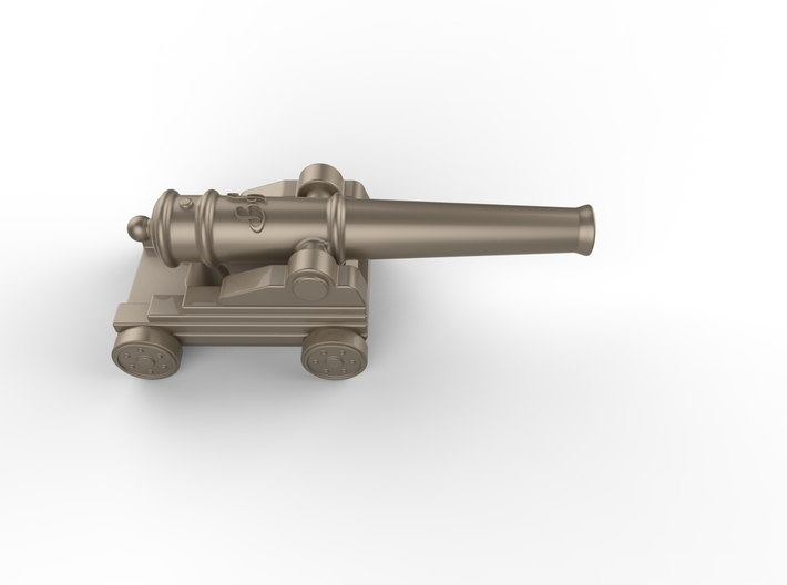 little ship cannon  3d printed