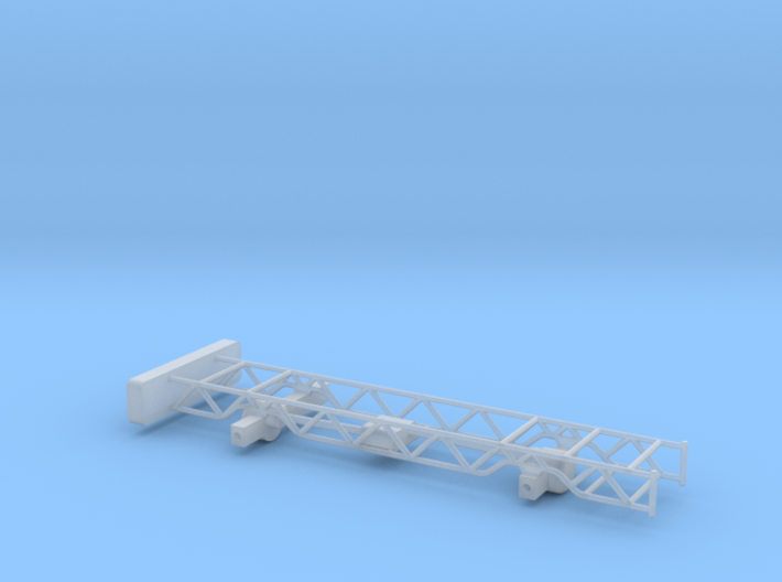 Chevy 4x4 pulling truck frame 1/64th scale 3d printed