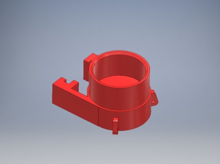1 50  Round hat D62 for 12MM pipe for Weserhutte 3d printed