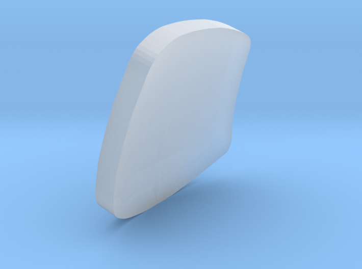 ETR610 Carriage 1 Windscreen/Glass Z, N and TT 3d printed