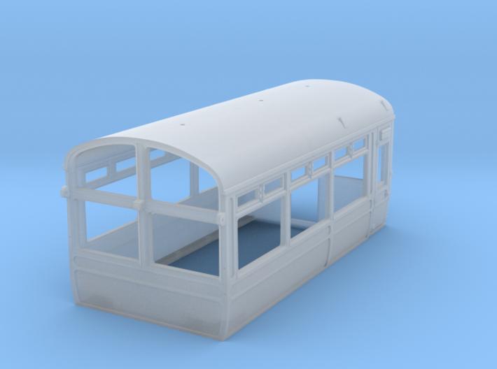 LNWR Body C, OO 3d printed