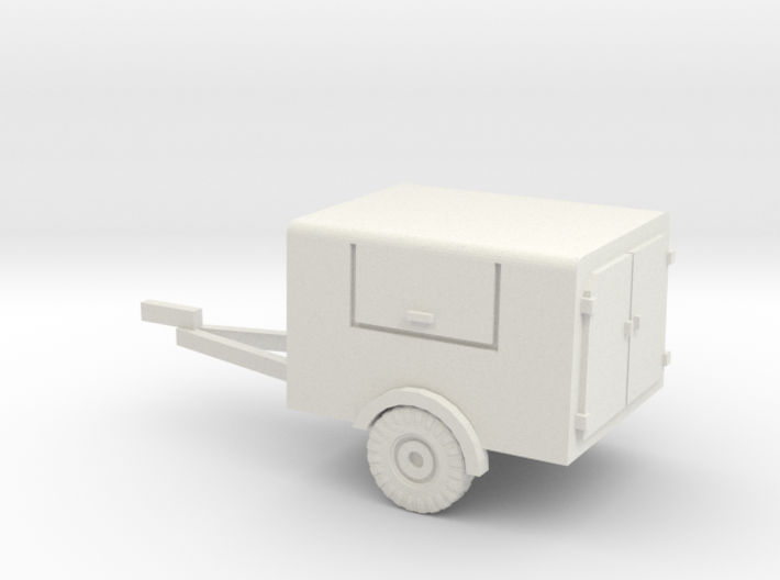 1/144 fire brigade trailer for LF 8 3d printed