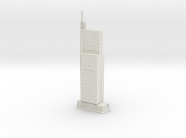 Comcast Technology Center (1:2000) 3d printed