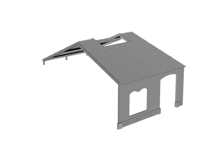 NRot12 - Railway roundhouse 3d printed