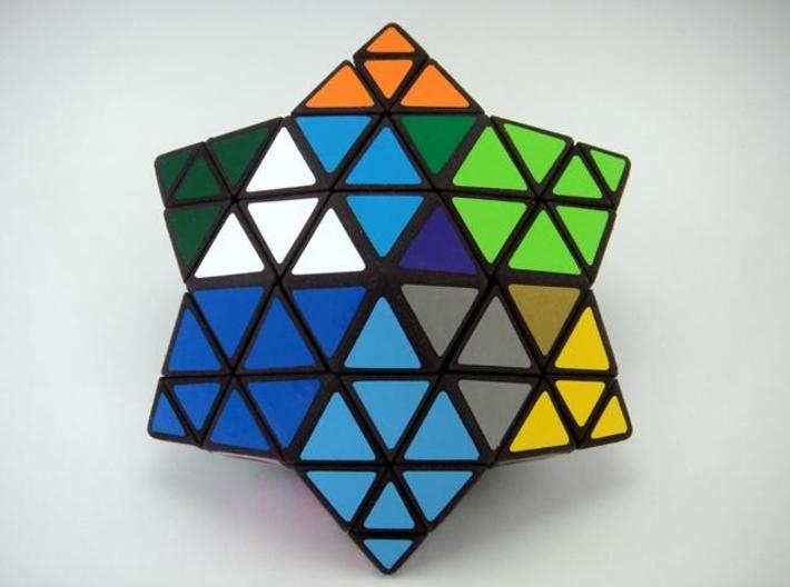 Star of David Puzzle 3d printed Multiple Vertex Turns