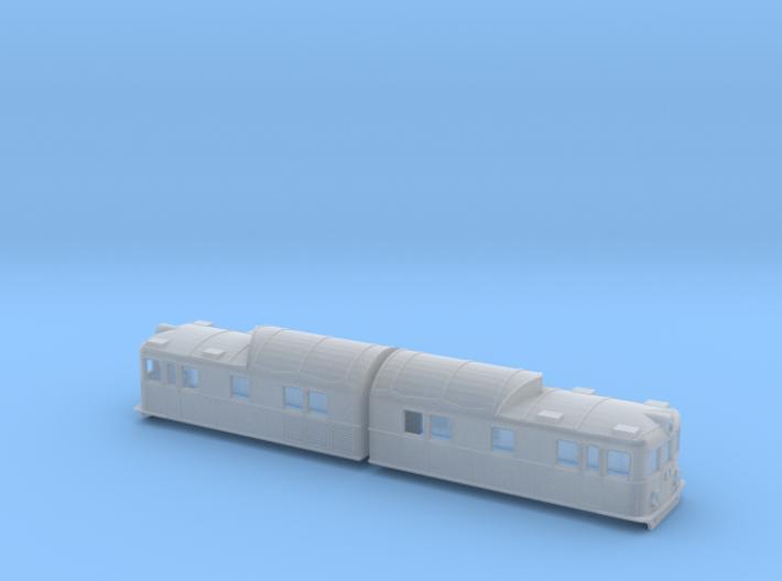 Swedish SJ electric locomotive type Oa 3d printed