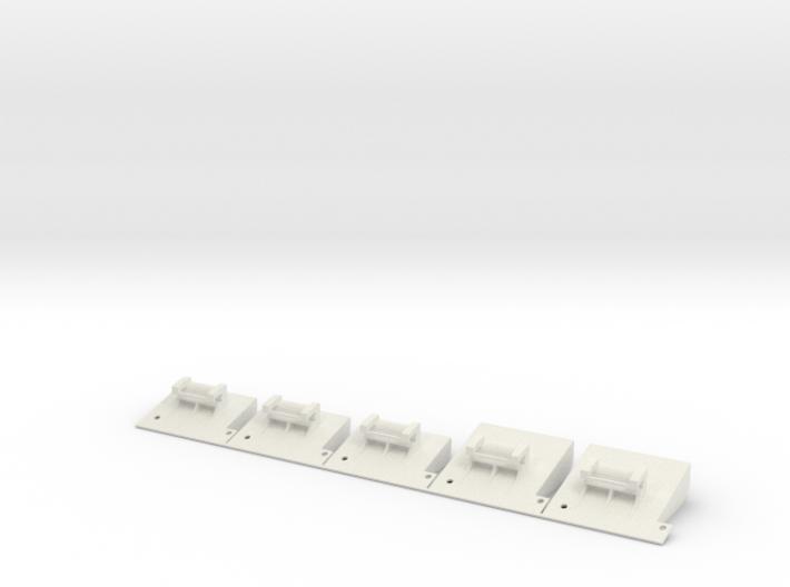 Mini-Z Diffuser 5 pack RR/ATM 3d printed
