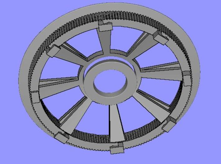 Belt disk for eBike 180Z HTD 3M 12mm 32 spokes 3d printed Belt disk for eBike