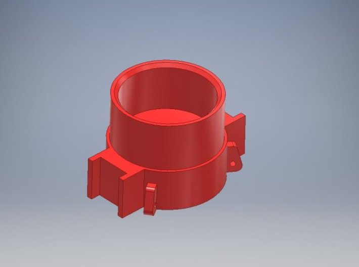 1-87 - D62 Round hat pipe 7MM for Swinging lead 3d printed