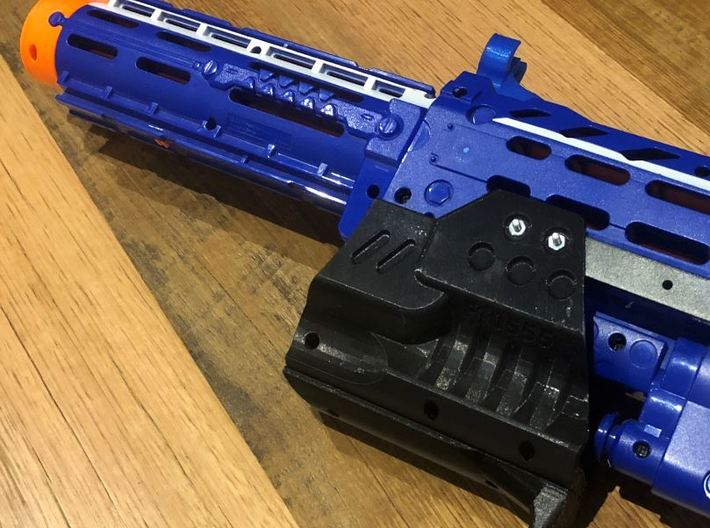 Longshot F10555 Pump Upgrade 3d printed