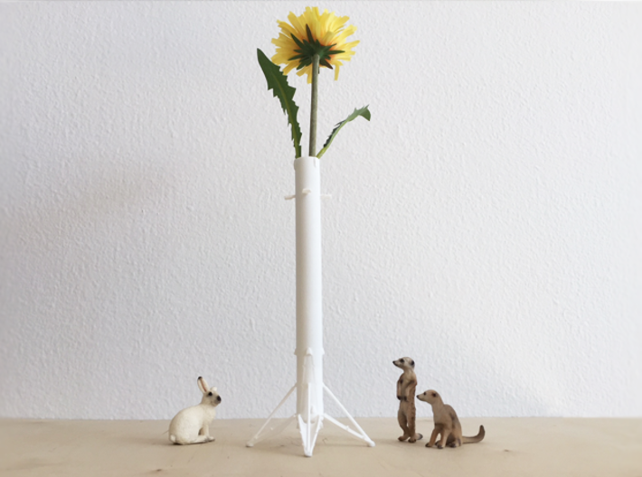 Little Rocket 9 3d printed As a vase