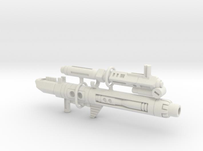 Terror Combiner's Blaster Set 3d printed