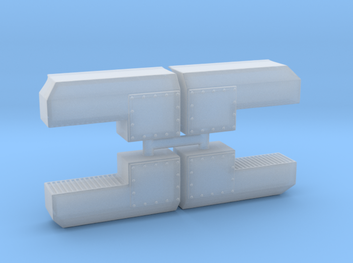 Dynacell Air Filter (HO - 1:87) 4X 3d printed