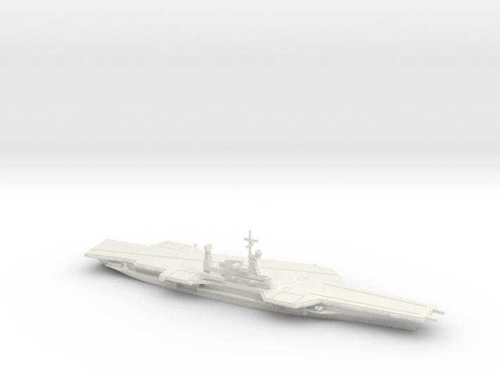 USS Midway (CV-41) (Final Layout), 1/1250 3d printed