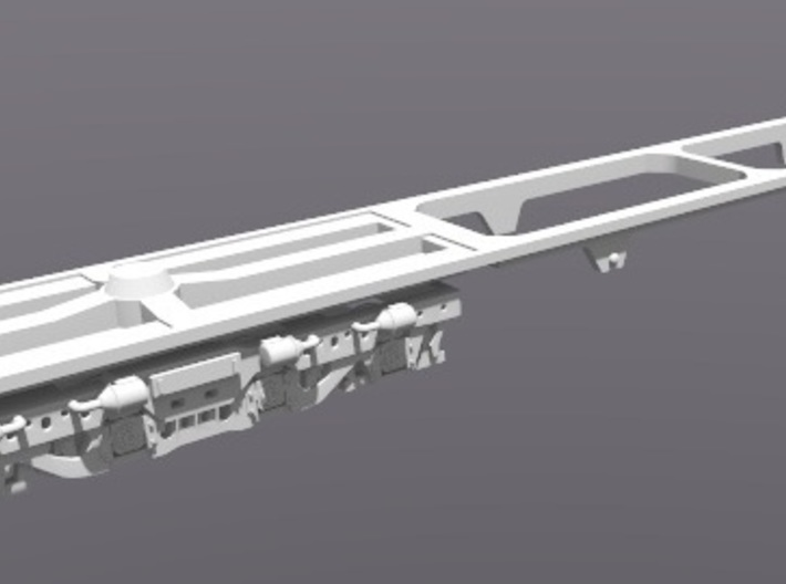 DDA40X Dummy Trucks N Scale 1:160 3d printed Chassis not included