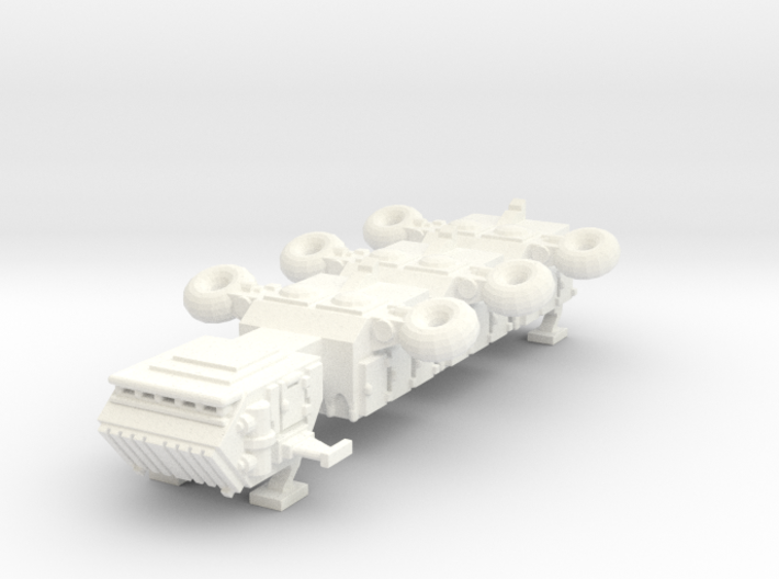 6mm Freighter with landing gear 3d printed