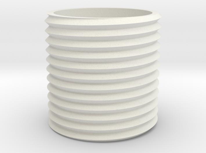 Coral Ring 3d printed