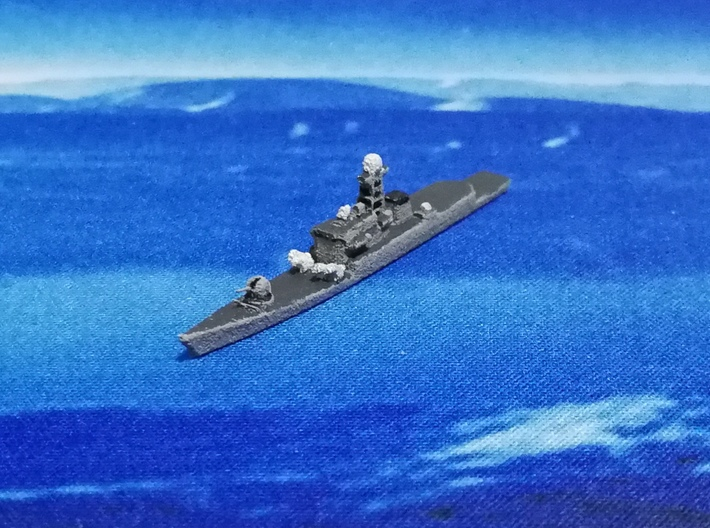 Kora-class Corvette, 1/1800 3d printed Painted Sample