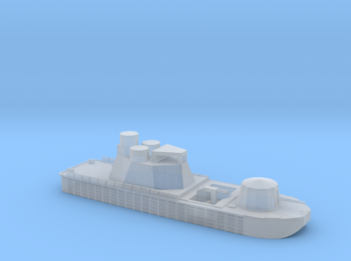 1/285 Scale Vietnam River Boat Monitor 3d printed