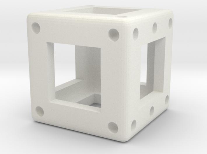 DICE - D6 - 1 cm 3d printed