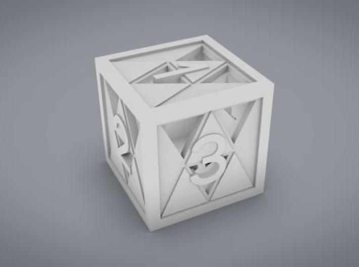 Triforce D6 3d printed