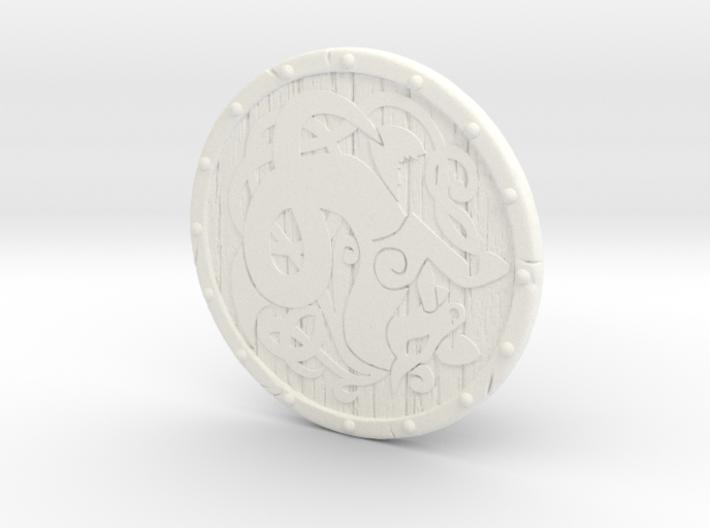 Shield-09-Targe-Celtic 6-7inch MOTU 3d printed