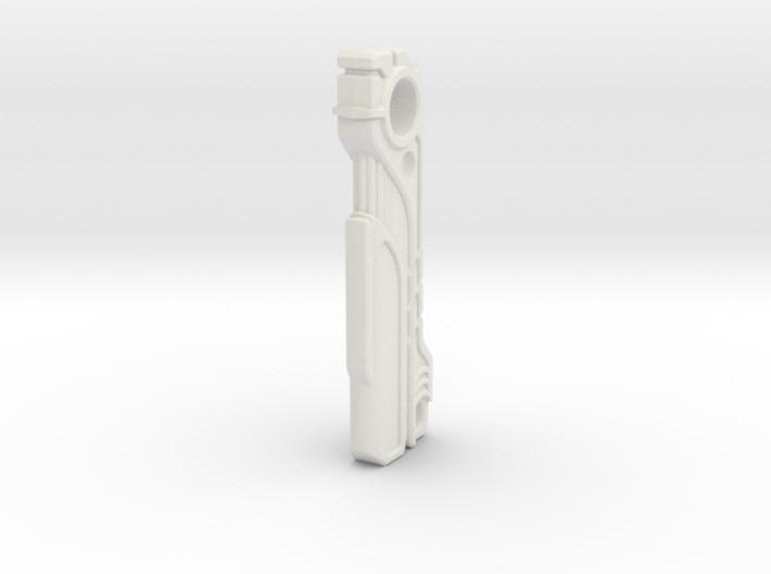 SciFi Magnetic Key Fob 3d printed Magnetic Keyfob