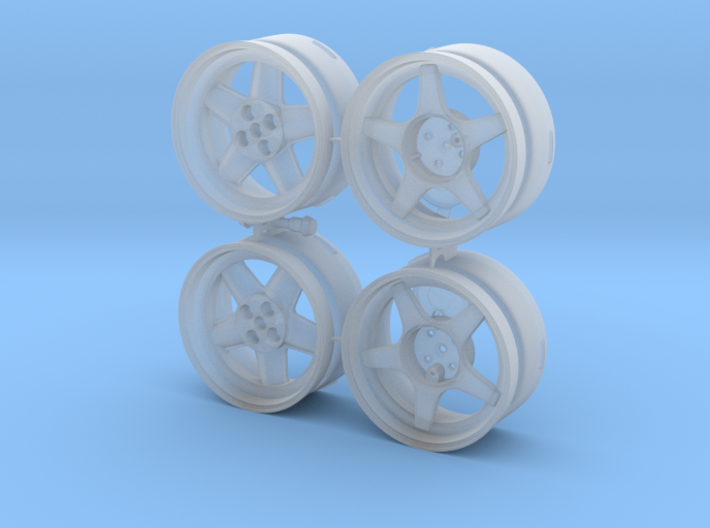 WHEEL Batch STL 3d printed