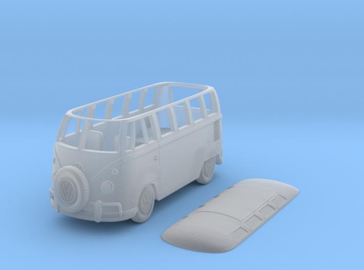 VW Bulli Scale TT 3d printed